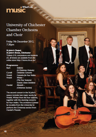 Chamber Orchestra and Choir
